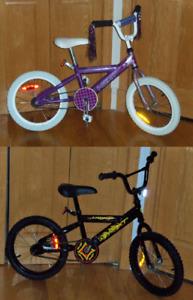 Vélos bicyclettes 16 pouces