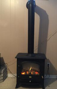 Foyer Électrique Dimplex comme neuf/Fireplace