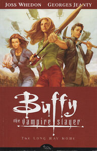Buffy the Vampire Slayer Graphic Novels and Script Book