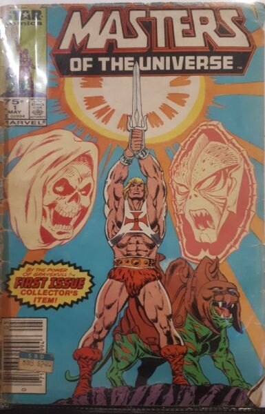 Masters of the Universe comic #1 (features the first comic book appearance of Hordak)