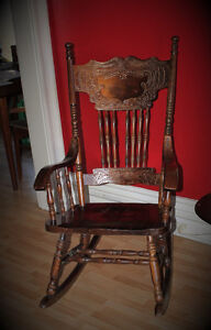Rocking Chair - Solid Wood London Ontario image 2