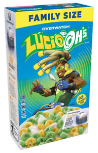 Lucio Ohs Overwatch Kelogg cereal 530g boxes, Only sold in USA