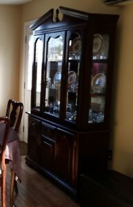 Buffet and Lighted Hutch (New Price)