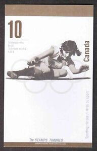 Stamps Canada BK192 Olympic Games Booklet #1612b