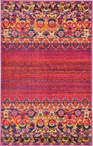 Rialto Red Area Rug by Bungalow Rose reg. $348 / 7x10