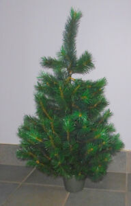 Faux 3ft Scotch one tree in pot