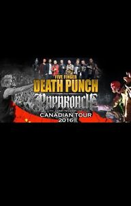 Five Finger Death Punch Tickets!!!