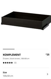 Ikea wardrobe komplement _ can deliver
