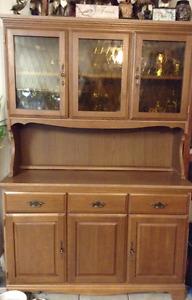 Maple  Vintage Hutch