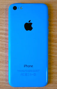 Blue iPhone 5C <<< UNLOCKED >>> with screen protector  647 - 886
