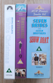 50s/60s movies VHS tapes