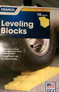 Camco leveling blocks 10 pack Brand New