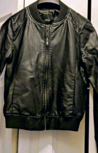 BNWOT Forever 21 Super Soft Faux Leather Bomber