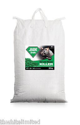 20 KG RAT POISON KILLER PROFESSIONAL GRADE FOR BAIT STATIONS JADE (MMCS)