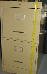 Filing Cabinet, two drawers.