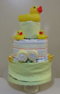 Diaper cakes for boys and girls Cambridge Kitchener Area image 8