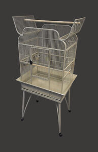 """26"""" Victorian Style Bird Parrot Cage with Open Top"""