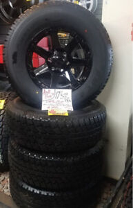 "Excellent Buy on 17"" TIRE/WHEEL PKG. CHEV/TACOMA/TITAN"