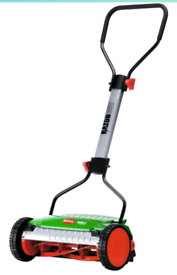 Cylinder lawnmower with roller Brill Razorcut Premium push manual