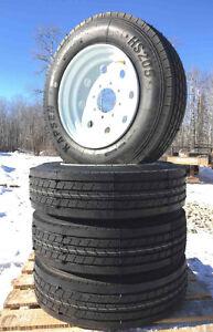Heavy Duty Trailer Tires - 8 lug - 215/75R17.5