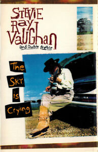 Stevie Ray Vaughn and Double Trouble - The Sky is Crying on tape