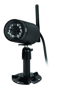Uniden Appcam23 IP Wireless Indoor/Outdoor Camera, Black