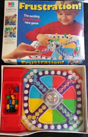 Frustration Board Game - vintage - 1980's / 90's