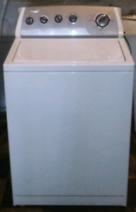Whirlpool super capacity washer works great