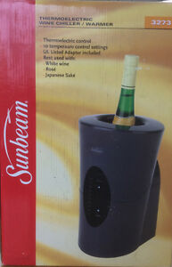 Wine chiller - thermoelectric