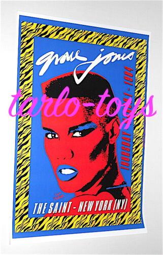 GRACE JONES - New York, Us - 1 March 1984 -  concert poster