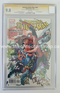 THE AMAZING SPIDER-MAN # 500 - CGC SIGNATURE SERIES 2003 MARVEL