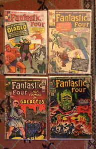 Vintage and Silver Age Comics