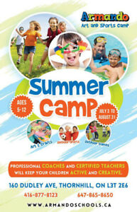 Summer Camp Multi-Sports / Soccer Coach