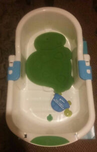 safety bath tub and sponge