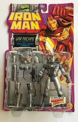 IRON MAN WAR MACHINE Action Figure NMOC Toybiz Marvel 1994, used for sale  Shipping to India