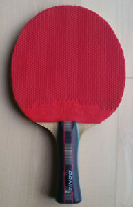 Great Donic Waldner table tennis racket with two rubbers for $60