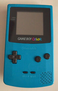 ***TEAL NINTENDO GAME BOY COLOR + MANY GAMES AVAILABLE!!!!!***
