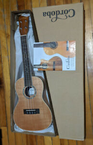 Cordoba 15CM Concert Ukulele - barely used, excellent condition!