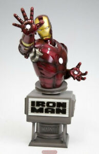 XMEN MARVEL LEGENDS AVENGERS STATUE IRON MAN BUST KOTOBUKIYA