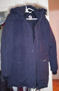 Authentic  Canada Goose  Womens   Parka - Navy,  Size XL