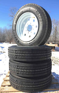 Heavy Duty Trailer Tires - 8 lug - 215/75R17.5