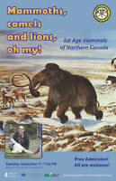 PUBLIC LECTURE: Ice Age mammals of northern Canada