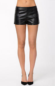 Mink Pink leather shorts brand new 20$ size small