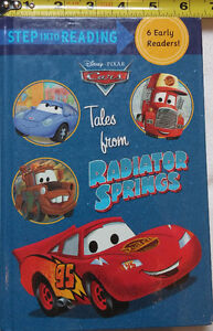 Cars Step Into Reading Tales from Radiator Springs 6 in 1 Book