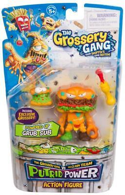 The Grossery Gang Series 3 Putrid Powder Action Figure - Grub Sub