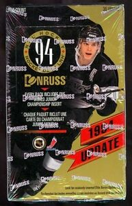 1993-94 DONRUSS hockey ... UPDATE BOX with CANADA and US JUNIORs