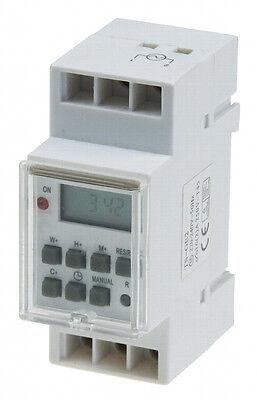 Interruptor eléctrico automático,montaje en panel 230V/16A Raíl protector 3500W