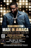 Sean Kingston Live -Saint John ft. Peter Jackson  & JRDN