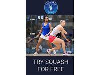 Try Us Free No Obligation (Comberton Squash Club)