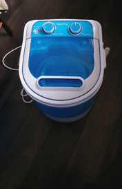 Camping/Portable washing machine with spinner
